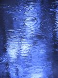Raindrops on water. Ripples spreading from raindrops on water Royalty Free Stock Image