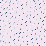 Raindrops Wektorowy Bezszwowy wzór Handdrawn Fotografia Royalty Free