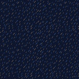 Raindrops Wektorowy Bezszwowy wzór Handdrawn Obraz Royalty Free
