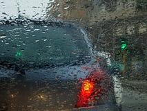 Raindrops Stock Photo