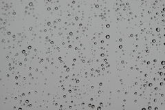 Raindrops on window Stock Photography