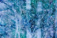 Raindrops on Window Stock Images