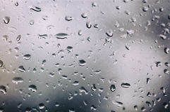 Raindrops on Window Royalty Free Stock Photography
