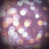 Raindrops in a window Royalty Free Stock Photos