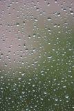 Raindrops on windows glass Royalty Free Stock Photo