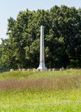 Raine Monument and Cemetery Appomattox Royalty Free Stock Photos