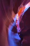 Rainez le canyon, vallée d'antilope, page, Arizona Photos libres de droits