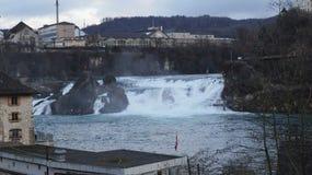 Rainfall. Water rainfall europe swiss nature royalty free stock photography