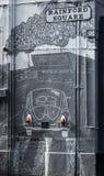 Rainford-Quadrat im Höhlen-Viertel, Liverpool lizenzfreie stockfotos