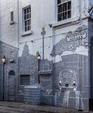Rainford-Quadrat im Höhlen-Viertel, Liverpool stockfotos
