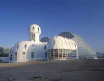 Free Rainforest And Living Quarters Of Biosphere 2 At Oracle In Tucson, AZ Stock Photography - 52312022