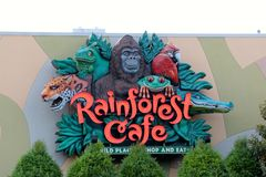 The Rainforest Cafe Nashville Tennessee Stock Images