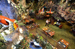 Rainforest Cafe in San Francisco - California Royalty Free Stock Image