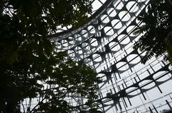 Rainforest greenhouse Dome in Taichung's Botanical Garden