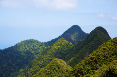 Rainforest hills, Langkawi Royalty Free Stock Photo