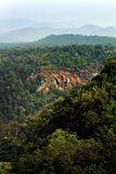 Rainforest and mountain in Northern Thailand, Chiang Mai, Thaila Royalty Free Stock Photo