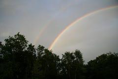 Rainforest rainbow Royalty Free Stock Photos