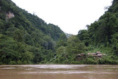 Rainforest Village Royalty Free Stock Photo