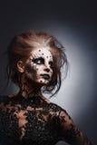 Rainha assustador. imagem de stock