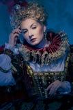 Rainha bonita fotografia de stock