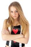 Rainha bonita do coração Imagens de Stock