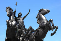 Rainha Boudica Fotos de Stock Royalty Free