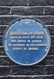 Rainha Charlotte Street em Windsor Fotos de Stock Royalty Free
