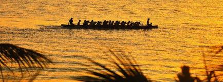 A rainha da canoa Imagens de Stock Royalty Free