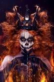 Rainha da morte foto de stock