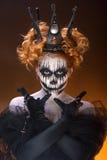 Rainha da morte imagem de stock