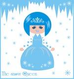 A rainha da neve Imagens de Stock