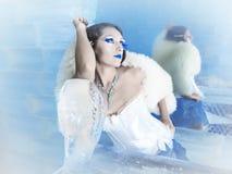 Rainha da neve fotografia de stock royalty free
