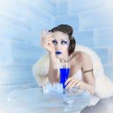 Rainha da neve imagens de stock royalty free