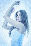 A rainha da neve Imagem de Stock Royalty Free