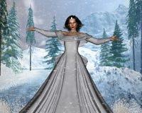 Rainha da neve ilustração do vetor