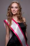 Rainha de beleza. imagens de stock