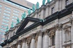 Rainha de Mary da catedral do mundo em Montreal fotografia de stock royalty free