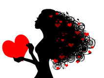 Rainha do amor Ilustração Stock