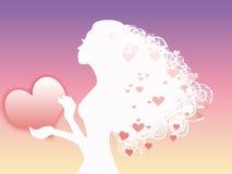 Rainha do amor Ilustração Royalty Free