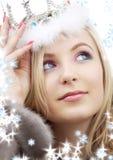 Rainha do inverno Imagem de Stock Royalty Free