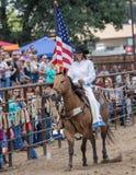 Rainha do rodeio Fotografia de Stock Royalty Free