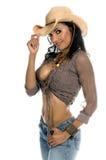 Rainha do rodeio Fotos de Stock Royalty Free