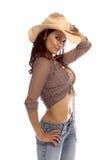 Rainha do rodeio Fotos de Stock