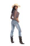 Rainha do rodeio Imagem de Stock Royalty Free