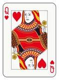Rainha dos corações Foto de Stock