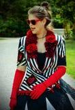 A rainha dos corações Imagens de Stock Royalty Free