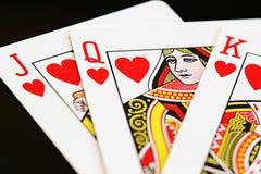 Rainha dos corações Imagem de Stock