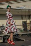 Rainha dos corações Chick Meet Imagens de Stock Royalty Free