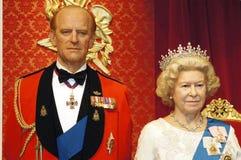 A rainha e o príncipe Fotografia de Stock