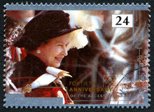 Rainha Elizabeth Accession Anniversary Foto de Stock